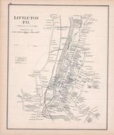 Littleton Town, New Hampshire State Atlas 1892 Uncolored